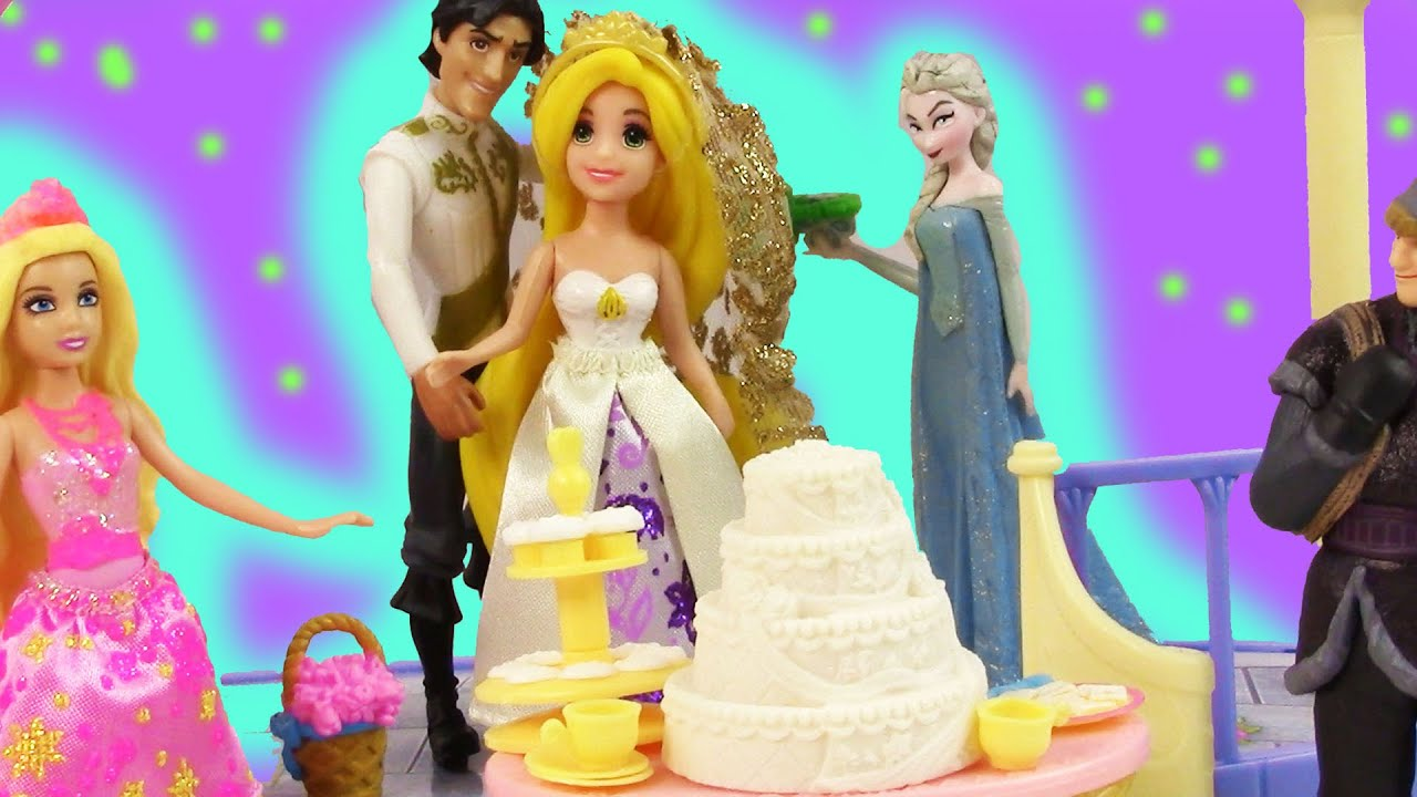 Disney Princess Fairytale Wedding Gift Set Rapunzel Flynn