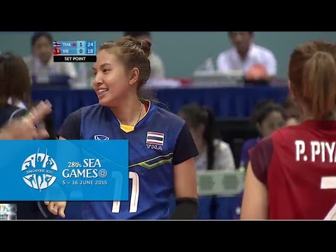Volleyball Women's Team Final - VIE vs THA | 28th SEA Games Singapore