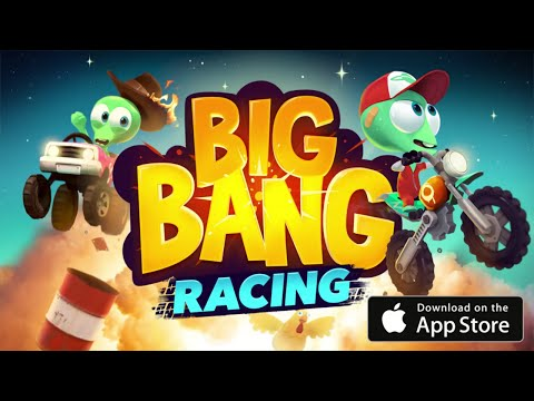 Official Big Bang Racing (by Traplight Ltd) Launch Trailer - (iOS / Android)