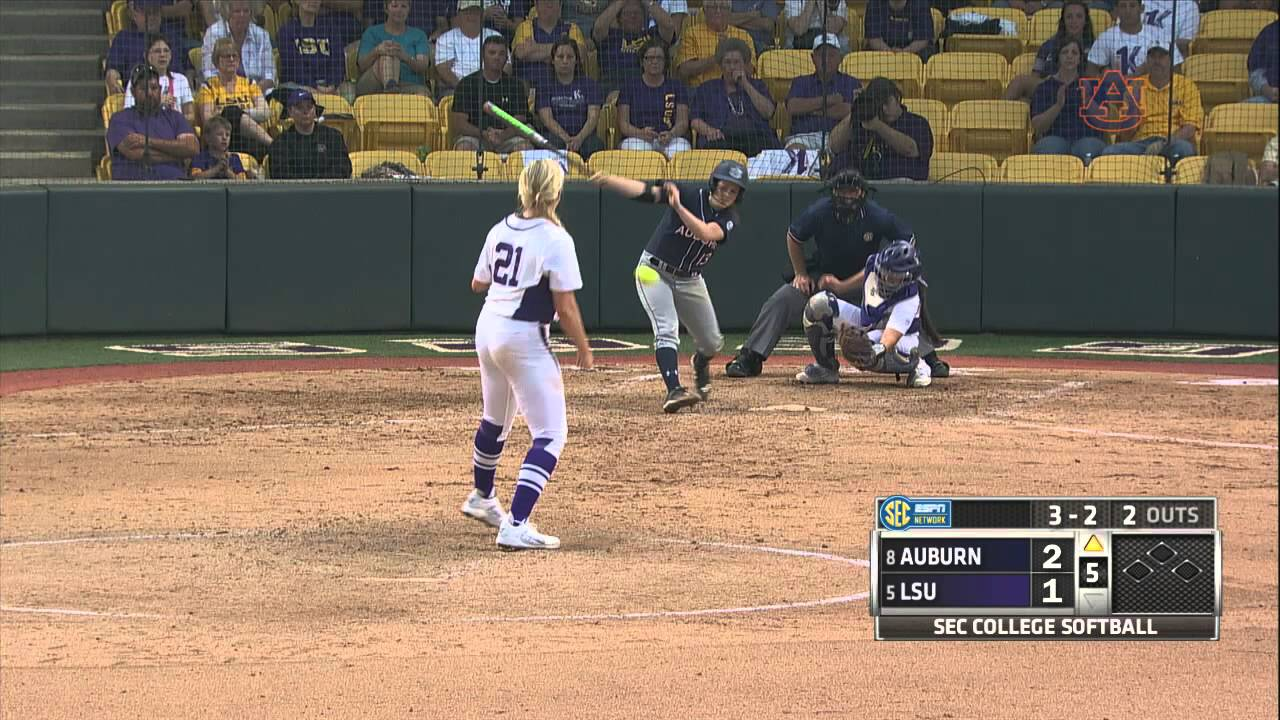 Auburn Softball at Lsu Game 1