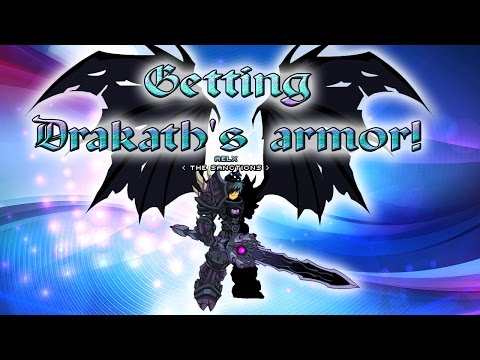 AQW: Aelx gets Drakath's Armor!