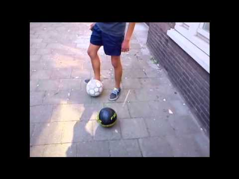 Freestyle with the bal in holland!
