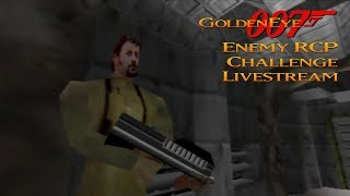 GoldenEye 007 N64 - Enemy RCP90 - Real N64 capture