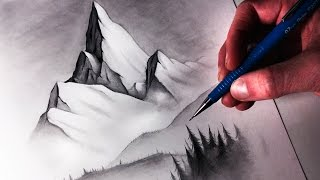 How to Draw a Misty Mountain