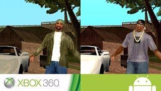 GTA San Andreas - Diferencias entre las versiones de Xbox 360 y Mobile (Android / iOS)