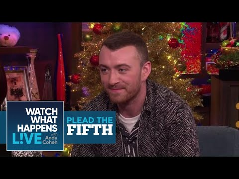 Is Sam Smith Team Kim Kardashian Or Team Taylor Swift? | Plead The Fifth | WWHL | What What Happens live
