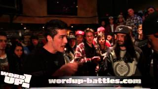 WordUP! (AUDITION) - MCO vs Franko Bucci