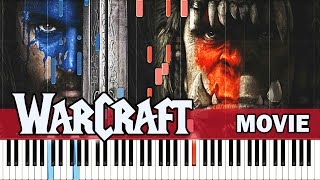 Piano Tutorial Warcraft Movie 2016 Synthesia Easy Piano Learning Movie Soundtrack