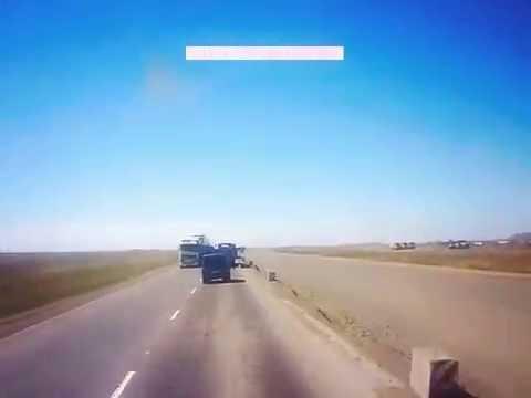Трасса Павлодар Экибастуз. Авария. ДТП.