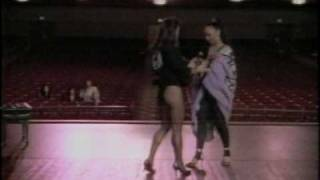 Solid Gold Lead Dancer Darcel Wynne and the first Ms. Olympia 1982 Rachel McLish