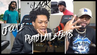 Fire Duo 6lack Pretty Little Fears Ft J Cole Official Music Audio Fvo Reaction