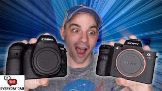 """Canon 6D Mark II VS Sony A7III!  Battle of the """"Budget"""" Full Frame Cameras!"""