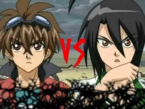 Bakugan Battle Brawlers - Dan vs Shun