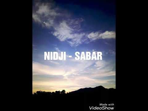 NIDJI ~ Sabar