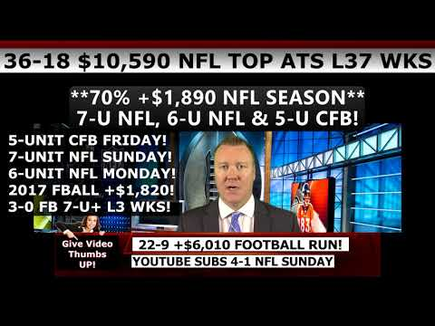 Free NFL Picks – Expert NFL Predictions Against the Spread Week 3 9/24/2017