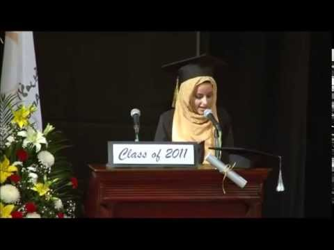 Valedictorian Speech by Reem M  Abushaban, Dubai Arab American Private School