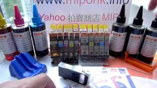 Canon PGI820 CLI821 PGI725 CLI726 PGI225 CLI226 Refill Ink By mipohk