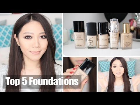 Top 5 Foundations + NEW Hair Colour AGAIN!