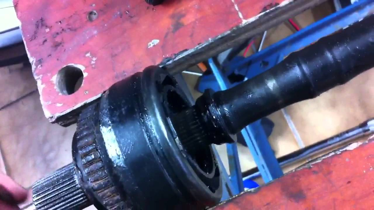 w210 4matic outer cv joint removal