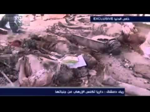 Serious Situation The Big Lie & Dirty War on Syria FSA Massacred Citizens of Daraya!