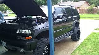 Lifted Tahoe and Silverado (alot of mods)