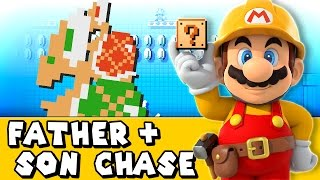 Super Mario Maker #1 - Father And Son Chase