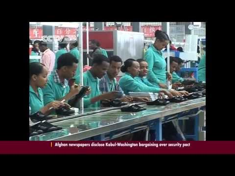 Ethiopian Based Chinese Hua-jian Shoe Factory Force Ethiopians to work in