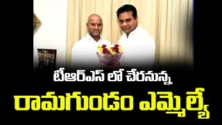 Ramagundam MLA Chander to Join In TRS | TRS Independent Candidate