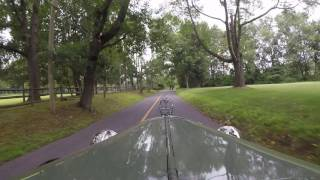 Model A Ford - Driving