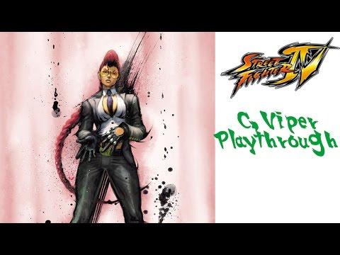 Street Fighter IV - C Viper Playthrough