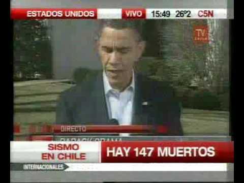 Terremoto en Chile video 11