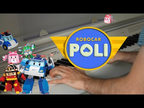 Robocar Poli - Piano