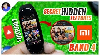 Mi Band 4 Hidden Features + ULTIMATE HACKS| Camera Shutter , Maps and more ! #BGblackfriday