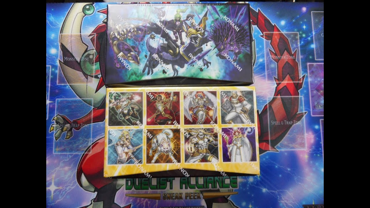 Yugioh Duelist Alliance Box Yugioh x2 Duelist Alliance