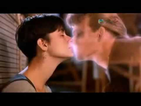 Patrick Swayze & Demi Moore & Whoopi Goldberg - Ghost, final scene