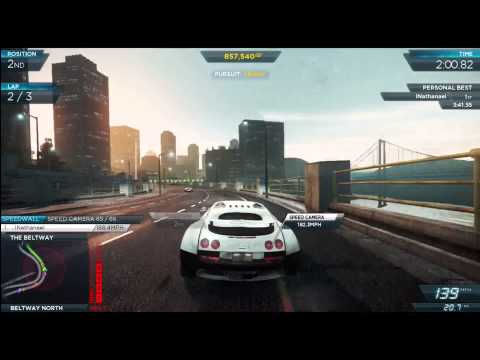 need for speed most wanted bugatti veyron super sport hidden location find it. Black Bedroom Furniture Sets. Home Design Ideas