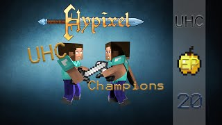 Hypixel UHC Highlights #20 - Hackers Never Carry Water Buckets