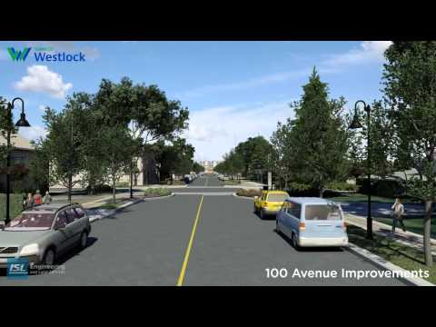 Westlock 100 Avenue Street Improvements