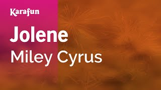 download lagu Karaoke Jolene - Miley Cyrus * gratis