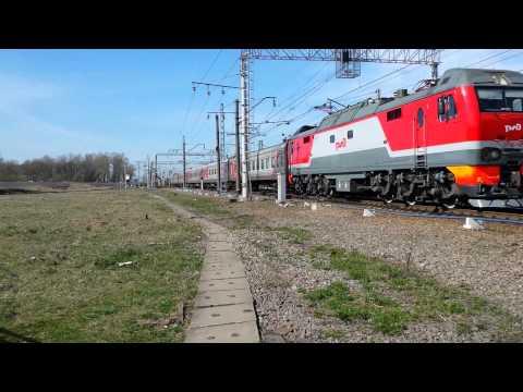 ЭП2К-145 с поездом 131Г Санкт-Петербург-Ижевск