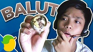 Eating Balut Without Spicy Vinegar and Salt