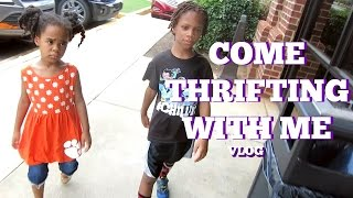Come Thrifting With Me vlog | August 3, 2016