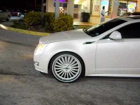 2011 Cadillac Cts Coupe On 22 Quot Asantis Slidin Youtube