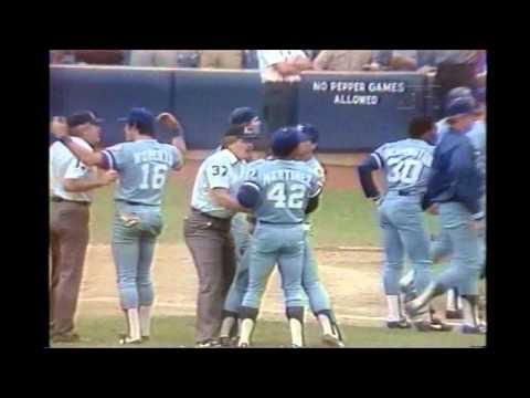 1983 Pine Tar game highlights - July 24 & August 18 - Royals vs. Yankees