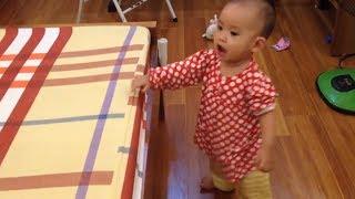 bé 14 tháng tuổi - cãi mẹ như SIÊU NHÂN