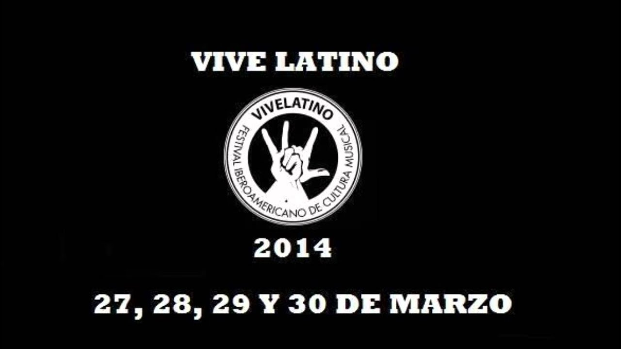Latino Cartel Cartel Completo de Vive Latino