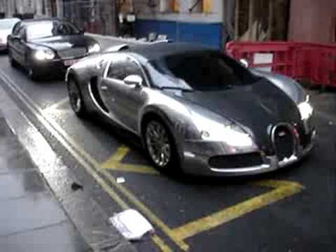 Bugatti Veyron 'Pur Sang' - Arab owned! -Chrome- Video