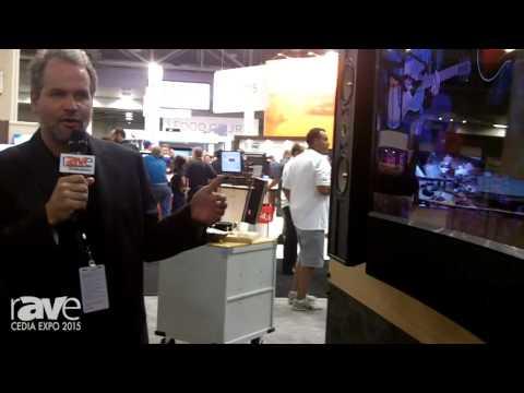 CEDIA 2015: Leon Speakers 44LX Curved Soundbar for Curved Screens