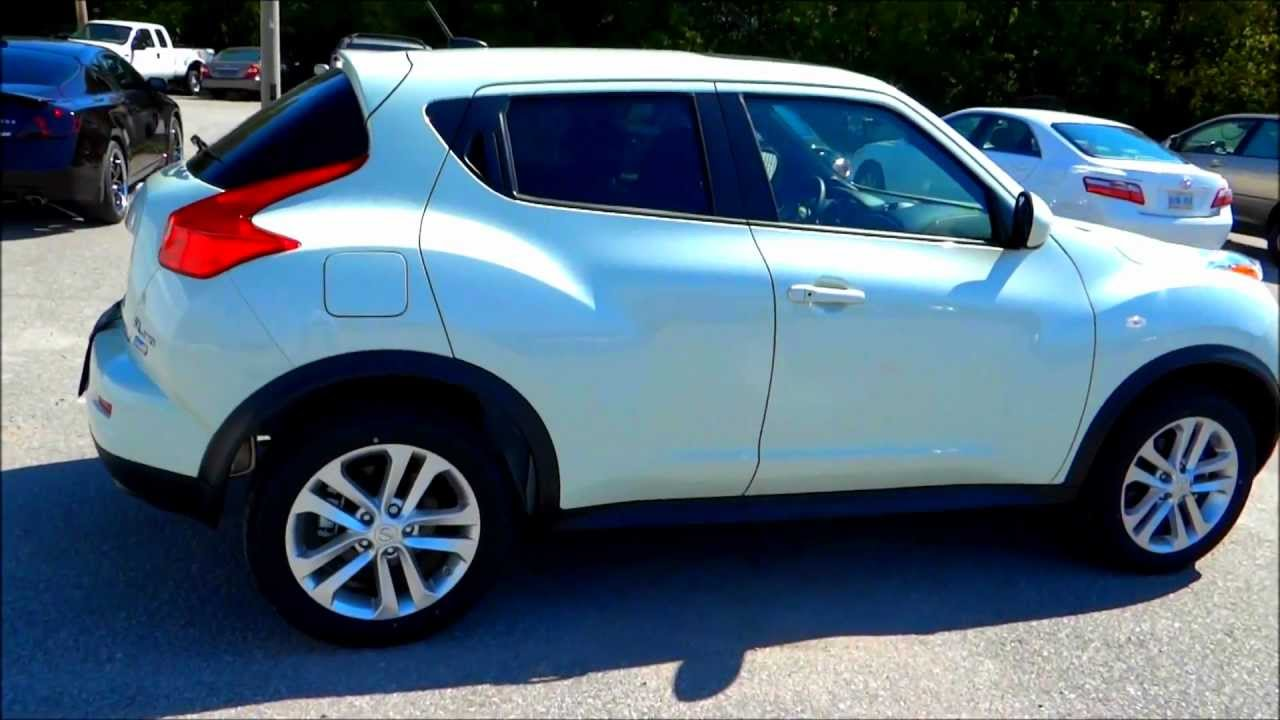2012 Nissan Juke Sl Awd Exhaust Engine Interior And