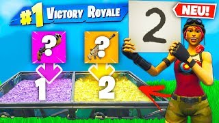 *NEU* WAFFENZAHL Modus in Fortnite Battle Royale!